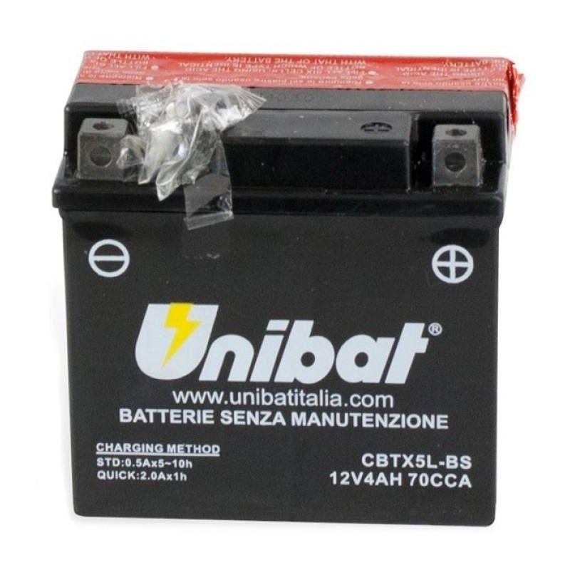 BATERIA UNIBAT BTX5L-BS