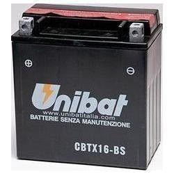 Batería para moto Unibat CBTX16-BS