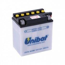 Bateria moto unibat cb10l-b2-sm / yb10l-b2 / cb10l-b2 / CB10L-B-P/SM