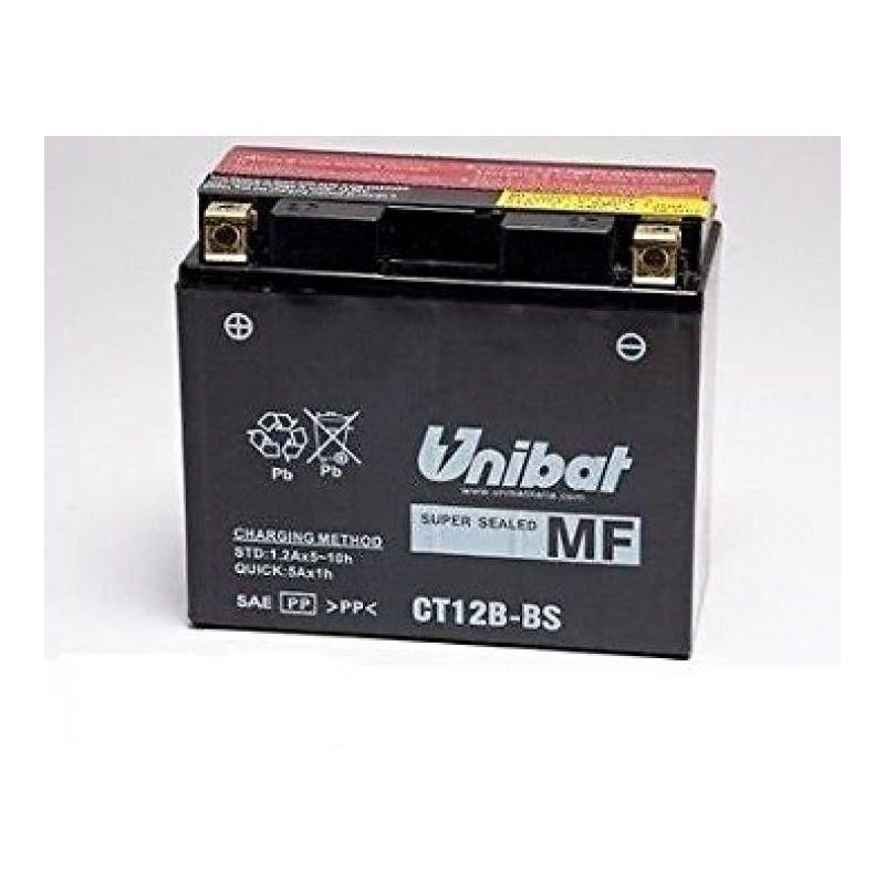 bateria moto unibat ct12b-bs/ yt12b-bs/ gt12b-4