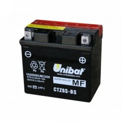 bateria de moto unibat ctz6s-bs