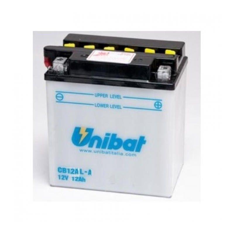 Bateria moto unibat cb12al-a-sm/ yb12al-a/ cb12al-a