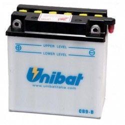 Bateria moto unibat cb9-b-sm/ yb9-b/ cb9-b