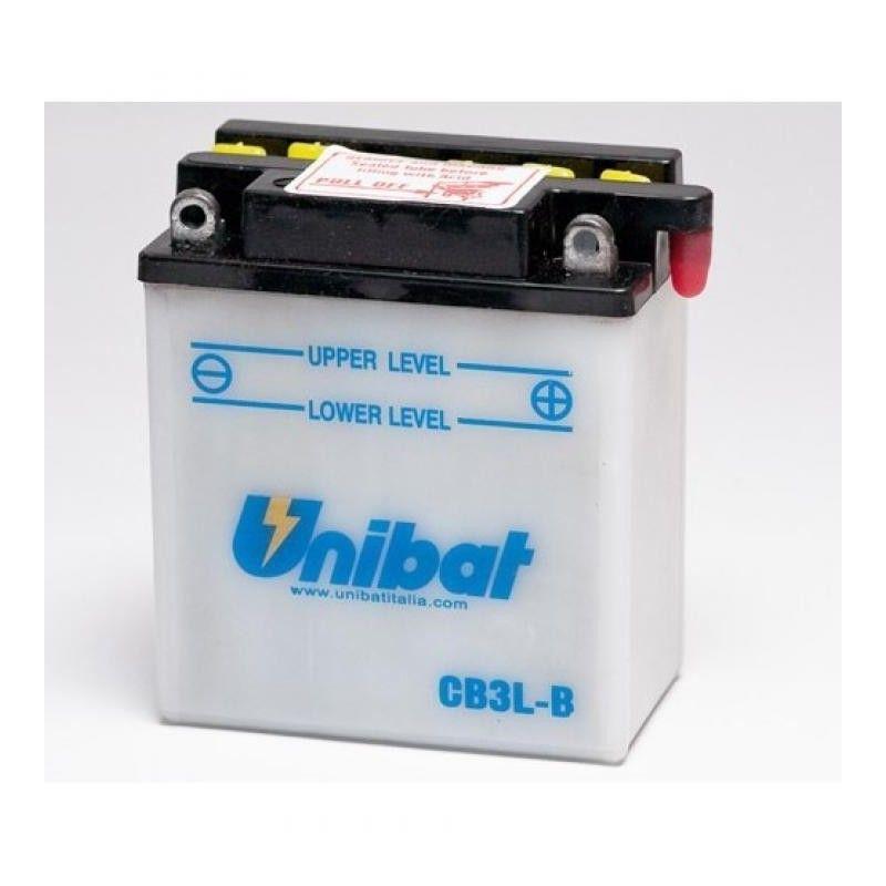 Bateria moto unibat cb3l-b-sm/ yb3l-b/ cb3l-b