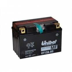 Bateria moto unibat ct12a-bs/ yt12a-bs/ gt12a-bs