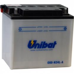 Bateria moto unibat c60-n24al-b-sm/ y60-n24al-b