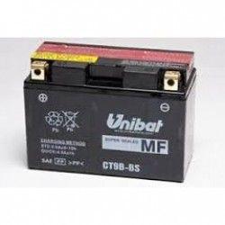 Bateria moto unibat ct9b-bs/ yt9b-bs/ gt9b-bs