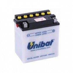 Bateria moto unibat cb10l-a2-sm/ yb10l-a2/ cb10l-a2/