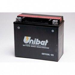 bateria unibat cbtx20l-bs/ btx20l-bs/ ytx20l-bs/ gtx20l-bs