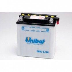 bateria moto unibat cb5l-b-sm/ yb5l-b/ cb5l-b