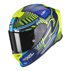 SCORPION EXO R1 AIR VICTORY Azul Amarillo